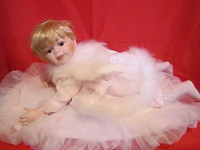 """Cathay Depot Collection Porcelain Angel """"Madison"""" Limited Edition"""