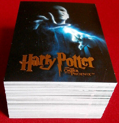 HARRY POTTER - ORDER OF THE PHOENIX - COLLECTOR'S UPDATE SET of 90 cards ARTBOX