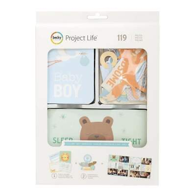 NEW Project Life Value Kit 120 pack Lullaby Boy