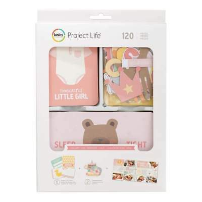 NEW Project Life Value Kit 120 pack Lullaby Girl