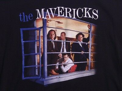THE MAVERICKS Music For All Occasions 1995 T-Shirt XL