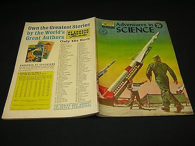 Special Issues (CL. ILL.) :#138A ADVENTURES IN SCIENCE HRN 149  VGF  1957