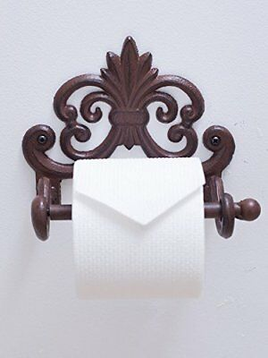 Iron Toilet Paper Roll holder   Mounted  Tissue Holder European Vintage Design