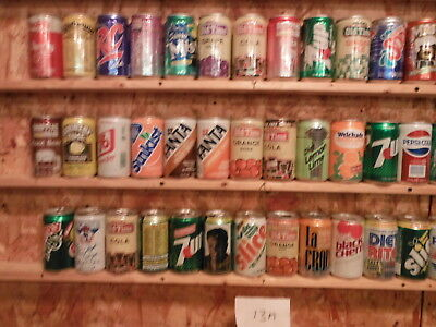 70+ Soda Can Collection-Lot #13-