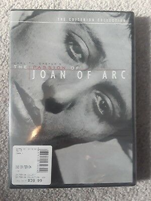 The Passion of Joan of Arc (DVD, 1999, Criterion Collection), brand new!