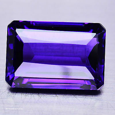 25.51 Ct Aaa! Purple Clr Change To Pink Amethyst Octagon Brazilian Exceptional