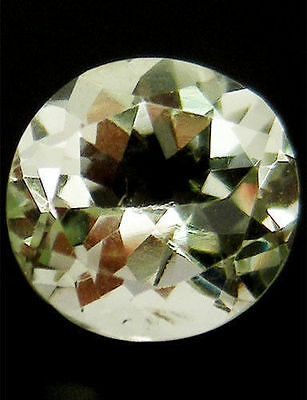5.33 Ct Natural! Light Green Uruguay Amethyst Round