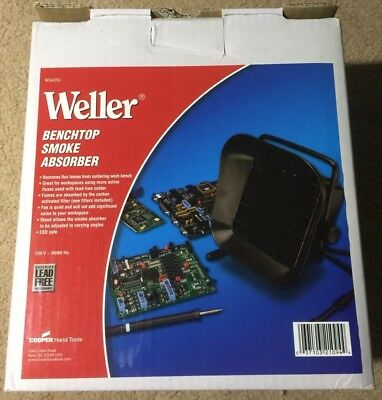 Weller Benchtop Smoke Absorber-Fast Shipping!