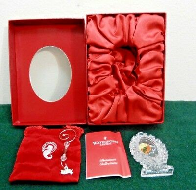 2008 Waterford Crystal Ornament Annual Victorian Christmas Ireland 146643  (O32)