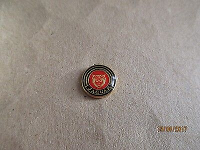 05-01 - JAGUAR logo pin - car badge - pinback - tie tack - pins - Ø 1,2 cm