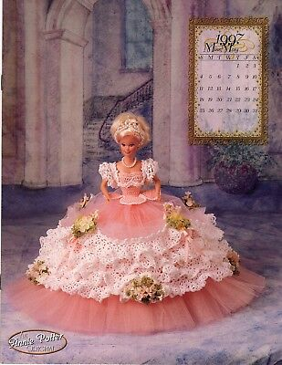 Annie Potter Royal Ballgown  series for Barbie.  Miss May 1997 crochet