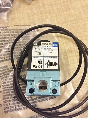 New Mac 111B-111Baaa  Solenoid Valve Best Price Free Shipping