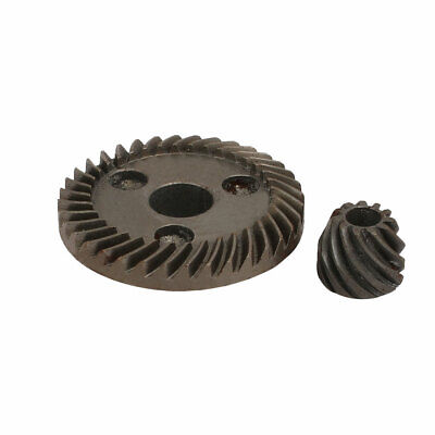 46mm Ring Gear Dia Electric Angle Grinder Spiral Bevel Set Gray Repairing Part
