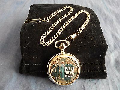 Peaky Blinders Pocket Watch With Chain (New)