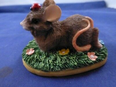 """Charming Tails Figurine """"I'm Thinking of You"""""""