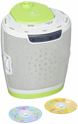myBaby Soundspa Lullaby Sound Machine and Projector Auto-Off Timer Includes P...