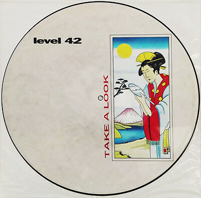 "LEVEL 42 -  12"" Picture Disc "" Take a Look """