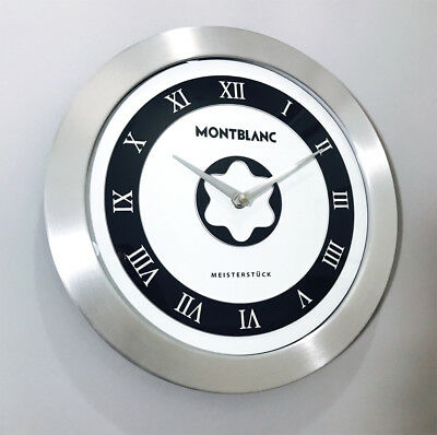 Montblanc Advertising Display Meisterstuck Showroom Wall Clock