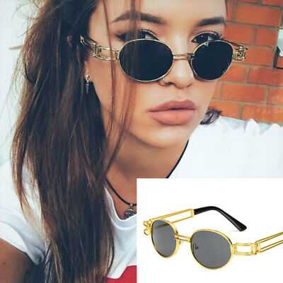 Steampunk Hollow Out Sunglasses Classic Elliptical Retro Vintage Fashion Shades