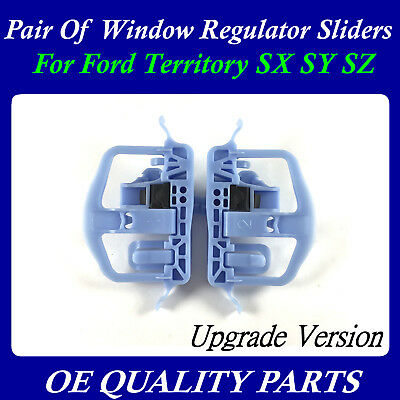 Pair of Upgrade Door Window Sliders Regulator Clip Slide for Territory SX SY SZ