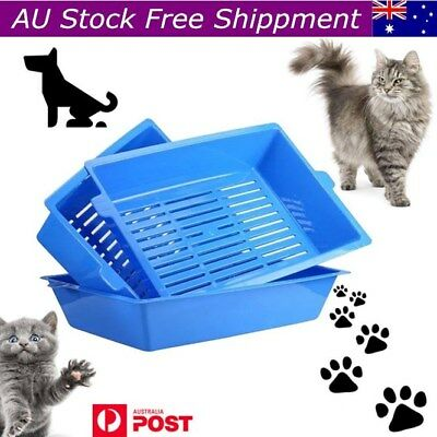 Sift Away Pet Cat Self Sifting Litter Box Toilet 3 Part System Slotted Trays