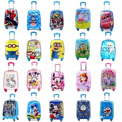 "Luggage Suitcase Travel Kids 18"" Cabin Trolley Hard 1.9 Kg 30*20*39cm"