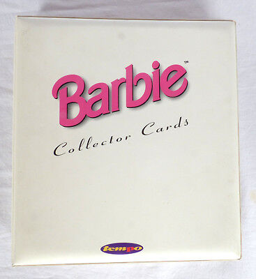Barbie Tempo Collector Cards in Barbie Folder 250 + Cards