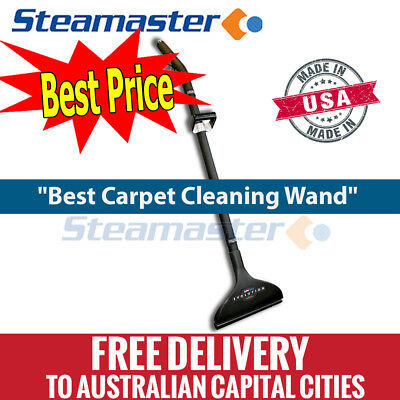 """Carpet Steam Cleaning Machine Extractor Cleaner 1.5"""" X 13"""" Evolution Carpet Wand"""