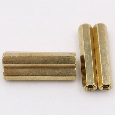 M3 HEX BRASS STANDOFF SPACER FEMALE-FEMALE Mainboard CCTV SCREWS 4MM-60MM