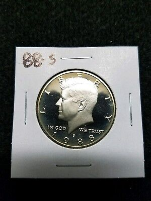 1988-S Us Proof Kennedy Half  Dollar  From Us Proof Set