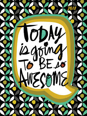 2018 Awesome Today Medium Weekly Monthly Planner