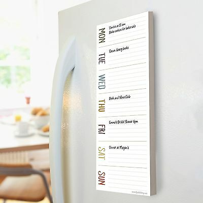 Earth Days Weekly Magnetic List Pad