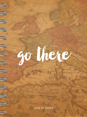 2018 Go There Medium Weekly Monthly Planner
