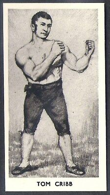 Cartledge-Famous Prize Fighters Boxing (Matt White Print)-#08- Tom Cribb