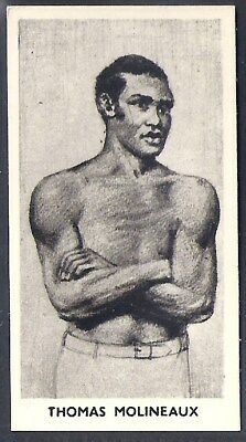 Cartledge-Famous Prize Fighters Boxing (Matt White Print)-#09- Thomas Molineaux