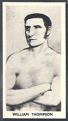 Cartledge-Famous Prize Fighters Boxing (Matt White Print)-#13- William Thompson