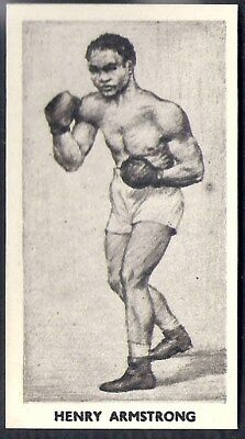 Cartledge-Famous Prize Fighters Boxing (Matt White Print)-#28- Henry Armstrong