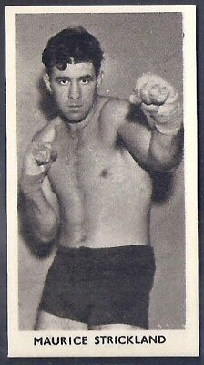 Cartledge-Famous Prize Fighters Boxing (Matt White Print)-#35- Strickland