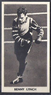 Cartledge-Famous Prize Fighters Boxing (Matt White Print)-#41- Benny Lynch