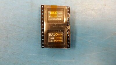 (2 Pcs) Tg81-1505Nc Halo Telcom Transformer 12Pin Smd
