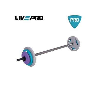 Bilanciere Studio Urethane Barbell Stets, 1,25*2+2,5*2+5*2-17,50kg, + Bar 1500mm