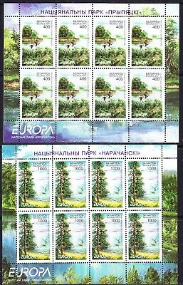 Europa Cept 2001 Belarus 2v sheetlets ** mnh (WI36) ROCK BOTTOM PRICE