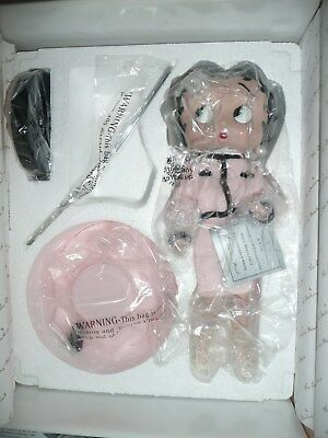 The Danbury Mint Betty Boop Porcelain Doll Sophistication by Sid Hap 1998