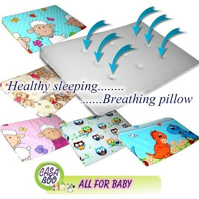 Colour Baby Wedge Pillow For Cot Bed Prevents Reflux Colic Newborn Foam
