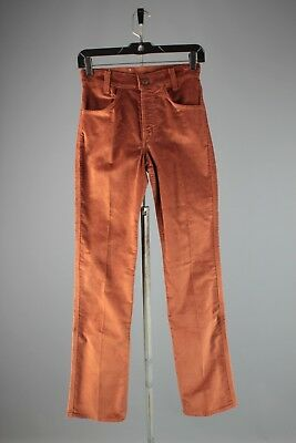 Vtg Men's 1970s NOS Deadstock Levis Boot Cut Corduroy Pants sz 26x33 70s #4082
