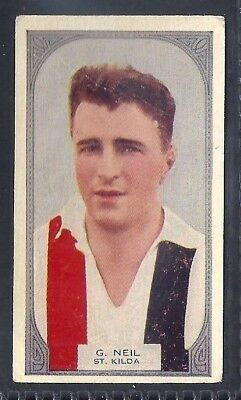 Hoadleys-Victorian Football Ers (51-100)-Aussie Rules-#085- St. Kilda - Neil