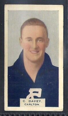 Hoadleys-Victorian Football Ers (Heads 1-50)-Aussie Rules-#008- Carlton - Davey