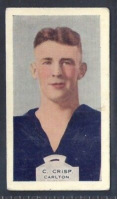 Hoadleys-Victorian Football Ers (Heads 1-50)-Aussie Rules-#018- Carlton - Crisp