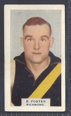 Hoadleys-Victorian Football Ers (Heads 1-50)-Aussie Rules-#031- Richmond Foster