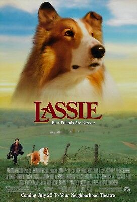 Lassie (1994) Original Movie Poster  -  Rolled